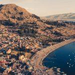 Copacabana e o Lago Titicaca